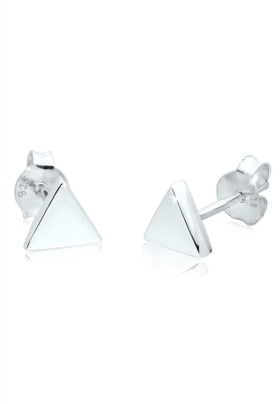 Elli Ohrringe »Dreieck Geo Minimal Basic Filigran 925 Silber«