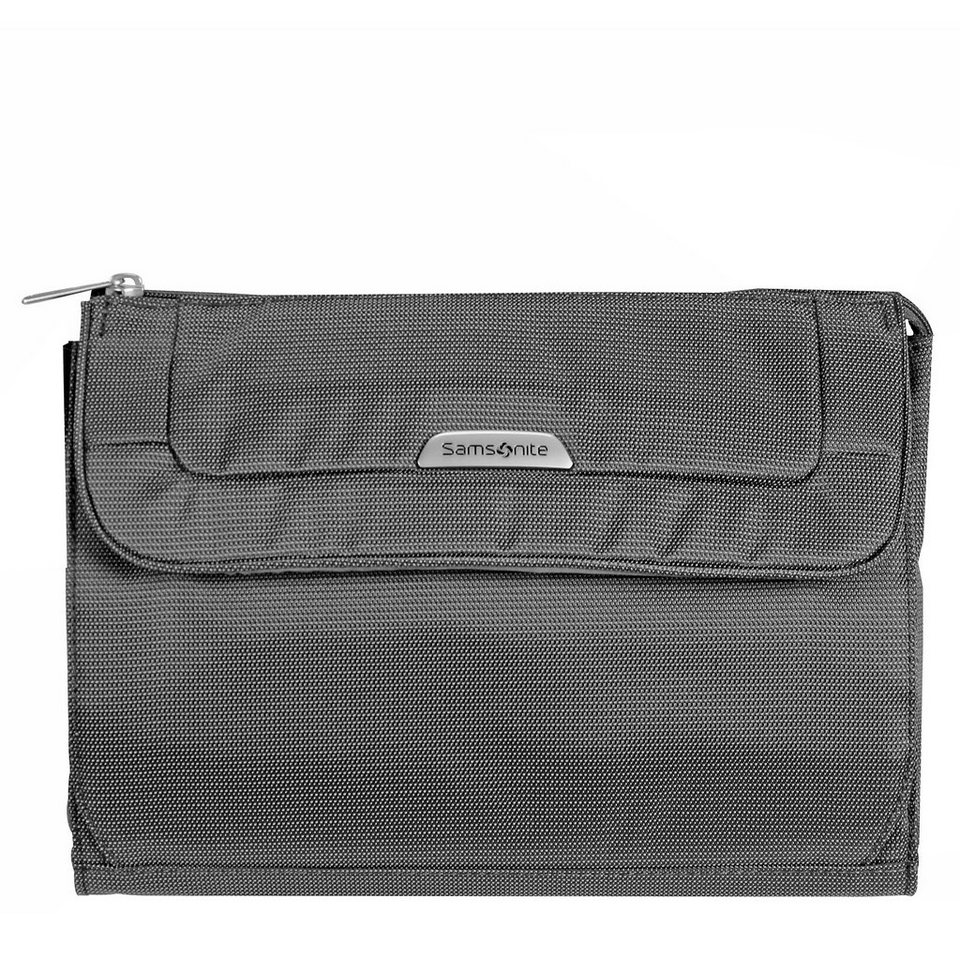 Samsonite Samsonite New Spark Cosmetic Case Toilet Kit Kulturtasche 27 cm in graphite