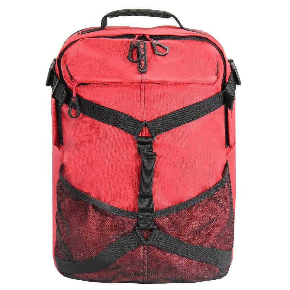 Samsonite Univ-Lite Rucksack 42 cm Laptopfach in red