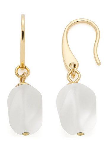 LEONARDO Paar Ohrhaken »Ofira, 019706«, mit Bergkristall