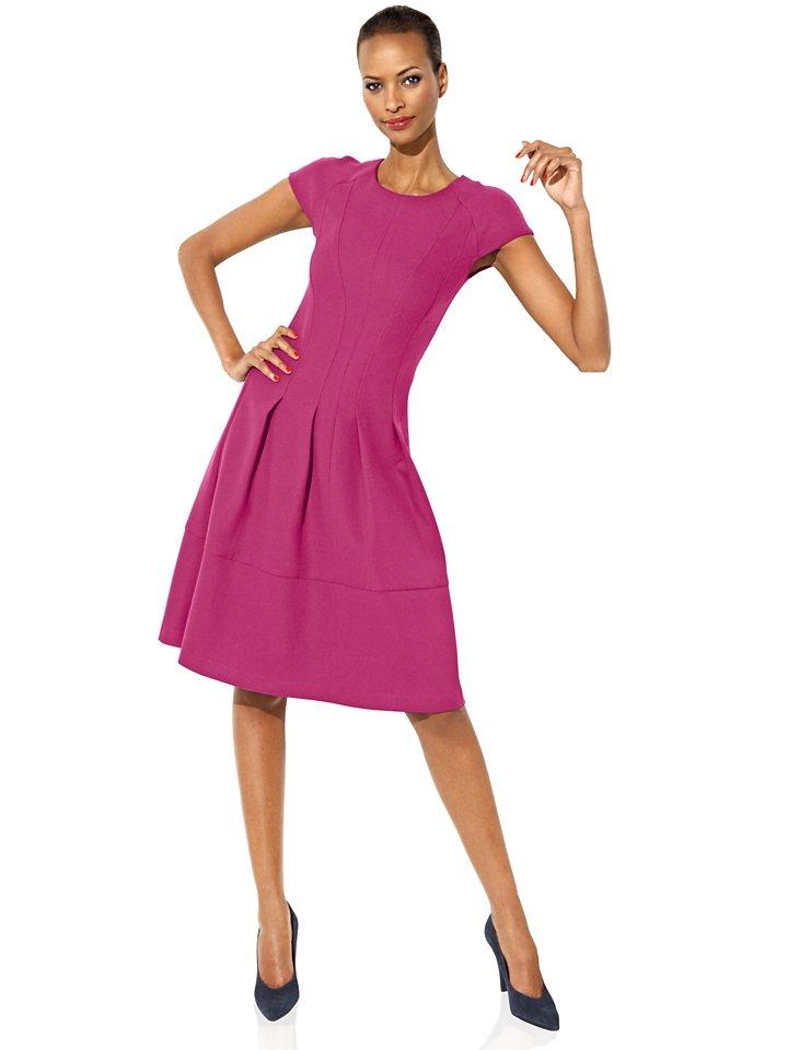 ASHLEY BROOKE by Heine Bodyform-Prinzesskleid in pink