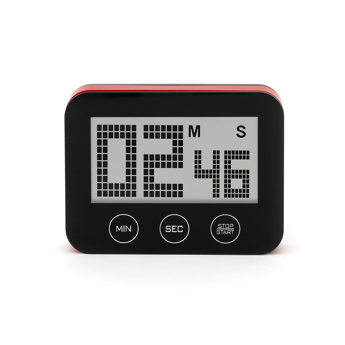 Bengt Ek Design Bengt Ek Design Timer mit Touchscreen schwarz
