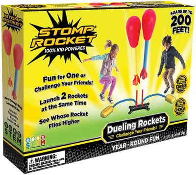 Stomp Rocket Spiel, Outdoor-Action-Spiel »Dueling«, mit Doppel-Startrampe und Kompressionskissen