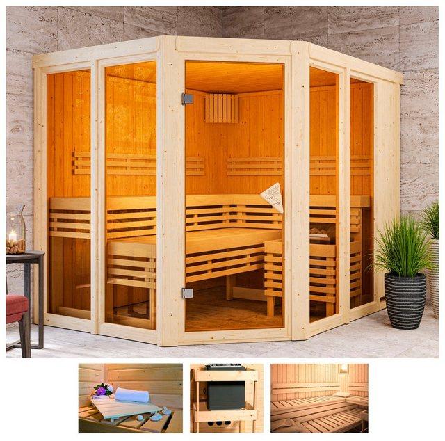 Saunen und Zubehör - KARIBU Sauna »Aaina 3«, 231x196x198 cm, ohne Ofen  - Onlineshop OTTO