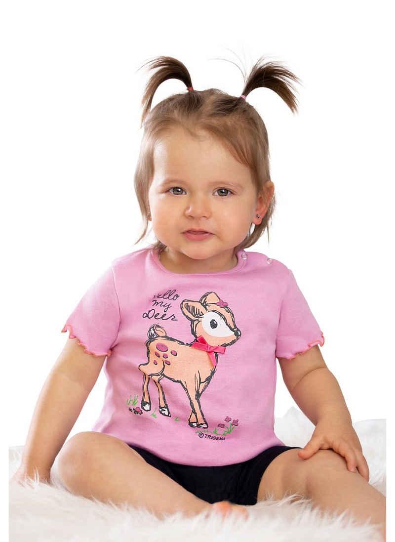 Trigema T-Shirt mit süßem Druckmotiv