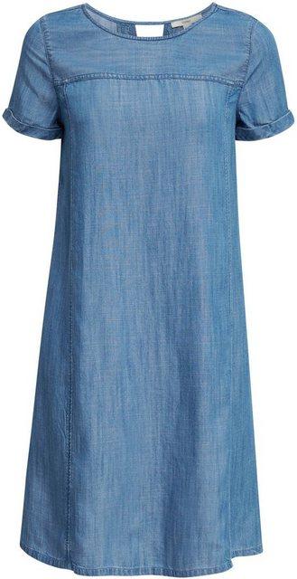 Esprit Jeanskleid aus TENCEL™ mit Eingriffstaschen   Bekleidung > Kleider > Jeanskleider   Esprit