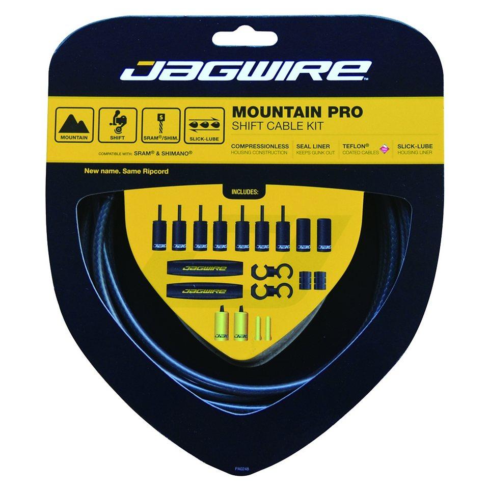 Jagwire Schaltung »Mountain Pro Schaltzugset weiss«
