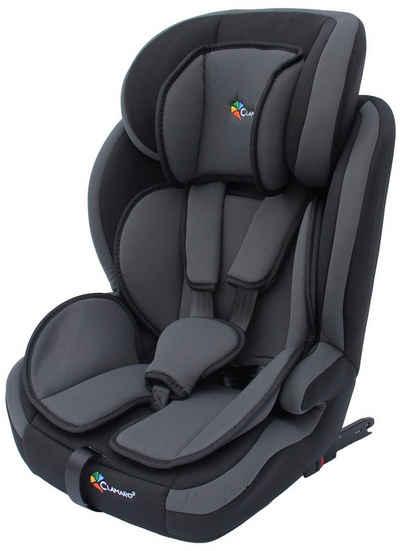 Clamaro Autokindersitz, 8 kg, CLAMARO Autokindersitz mit ISOFIX von 9 bis 36 kg Gruppe 1+2+3 Sitze, Autositz, Kindersitz (9-36 Kg Körpergewicht)ECE R44/04 geprüfter Kinderautositz, SPS Side Protection System (Seitenaufprallschutz), 5-Punkt SicherheitsgurtExtra stark gepolsterte Sitzfläche, Rückenlehne und Armlehnen - Mitwachsende Kopfstütze in der Höhe verstellbar