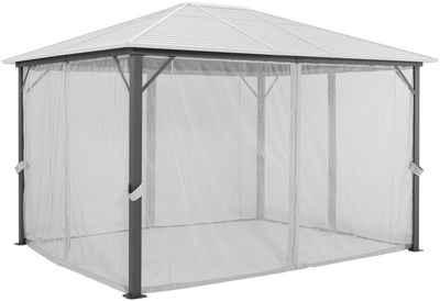 KONIFERA Pavillonseitenteile »Barbados«, mit 4 Seitenteilen, BxL: 300x400 cm