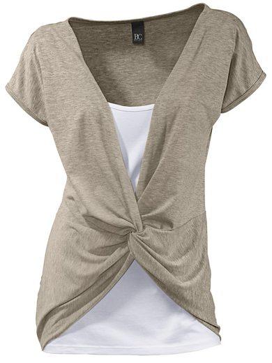 B.C. BEST CONNECTIONS by Heine Shirt 2-in-1 mit Knotendetail