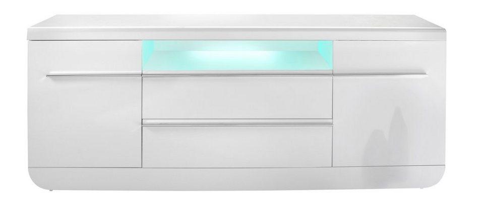 Sideboard, S.C.I.A.E., »Floyd«, Breite 200 cm in weiß