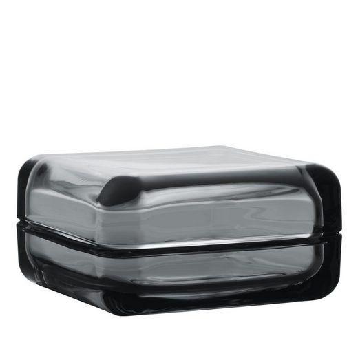 IITTALA Schale »VITRIINI Glasbox 10.8 cm grau«, Glas