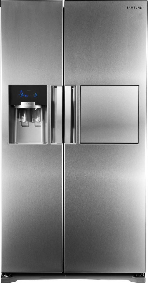 Samsung Side-by-Side RS7778FHCSL, A++, 178,9 cm hoch, NoFrost in edelstahl optik