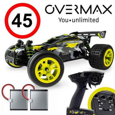 Overmax RC-Auto »X-BLAST«, 45km/h 4x4-Metallantrieb Wasserdicht IP57 100m TÜV