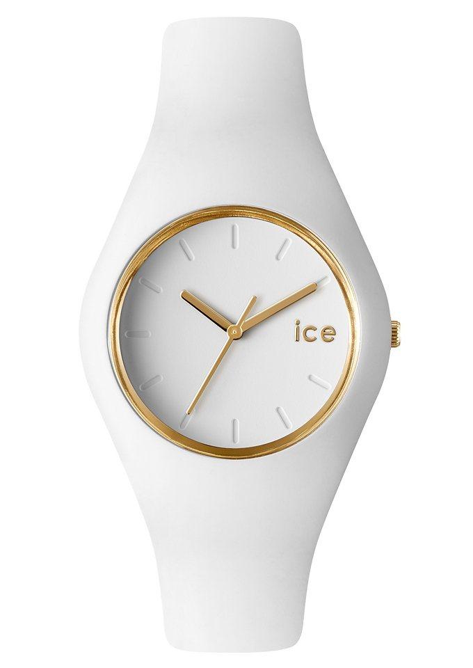 """Ice watch, Armbanduhr, """"ICE-GLAM, ICE.GL.WE.U.S.13"""" in weiß"""