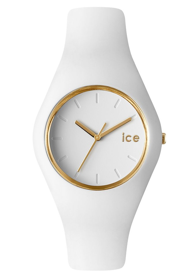 ice-watch Quarzuhr »ICE-GLAM, ICE.GL.WE.U.S.13« in weiß
