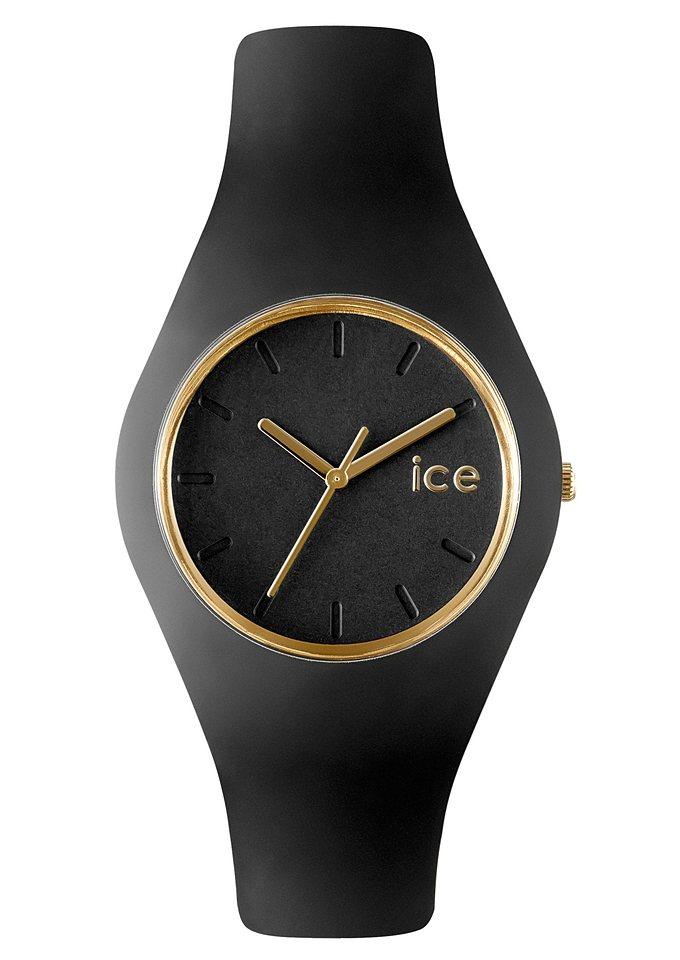 """Ice watch, Armbanduhr, """"ICE-GLAM Black, ICE.GL.BK.U.S.13"""" in schwarz"""