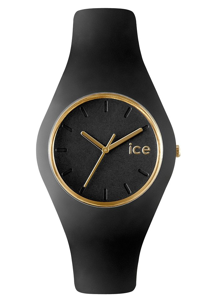 ice-watch Quarzuhr »ICE-GLAM Black, ICE.GL.BK.U.S.13« in schwarz