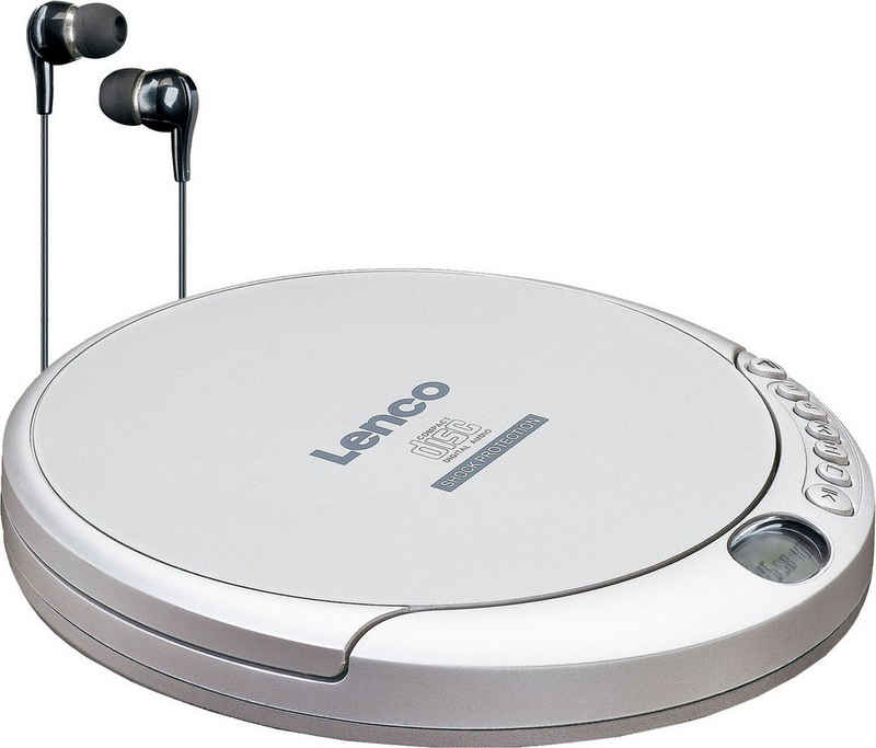 Lenco »CD-201Sl« CD-Player (Anti-Schock-Funktion)