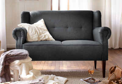 Home affaire 2-Sitzer »Mara«, mit Federkern