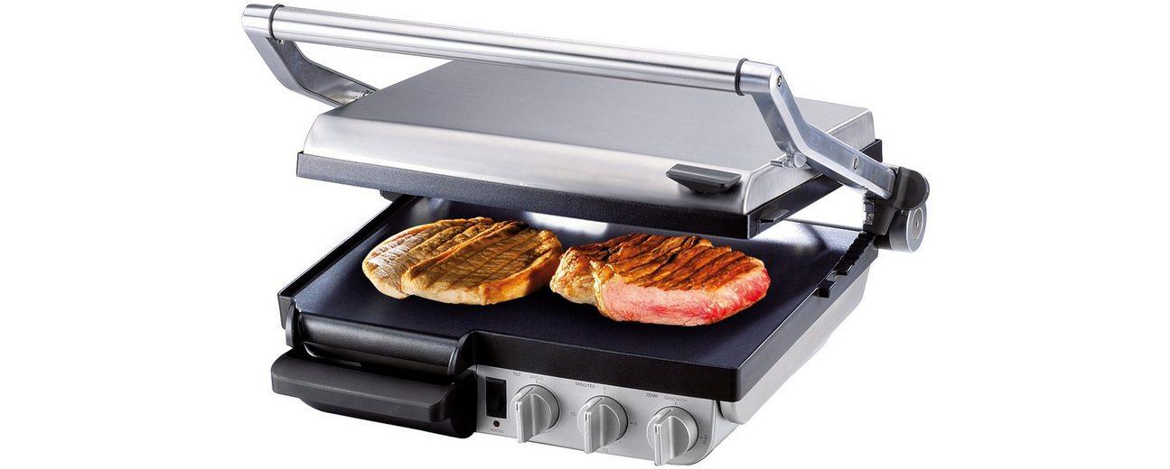 Gastroback Kontaktgrill Design Grill-Barbecue Advanced 42534, 2400 Watt