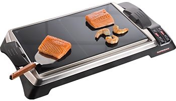 Gastroback Tischgrill Teppanyaki Glas-Grill Advanced, 1280 Watt