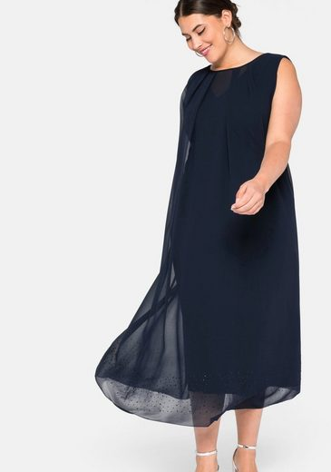 Sheego Abendkleid im Lagenlook