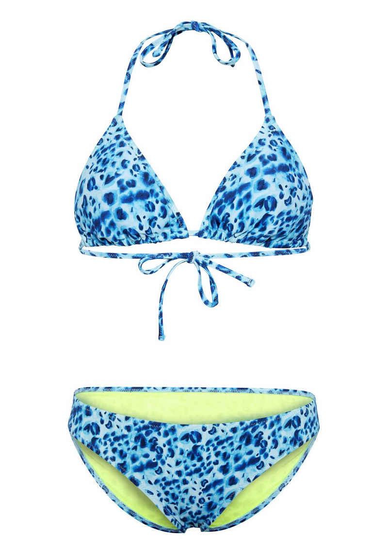 Chiemsee Triangel-Bikini »mit Alloverprint« (2 St)