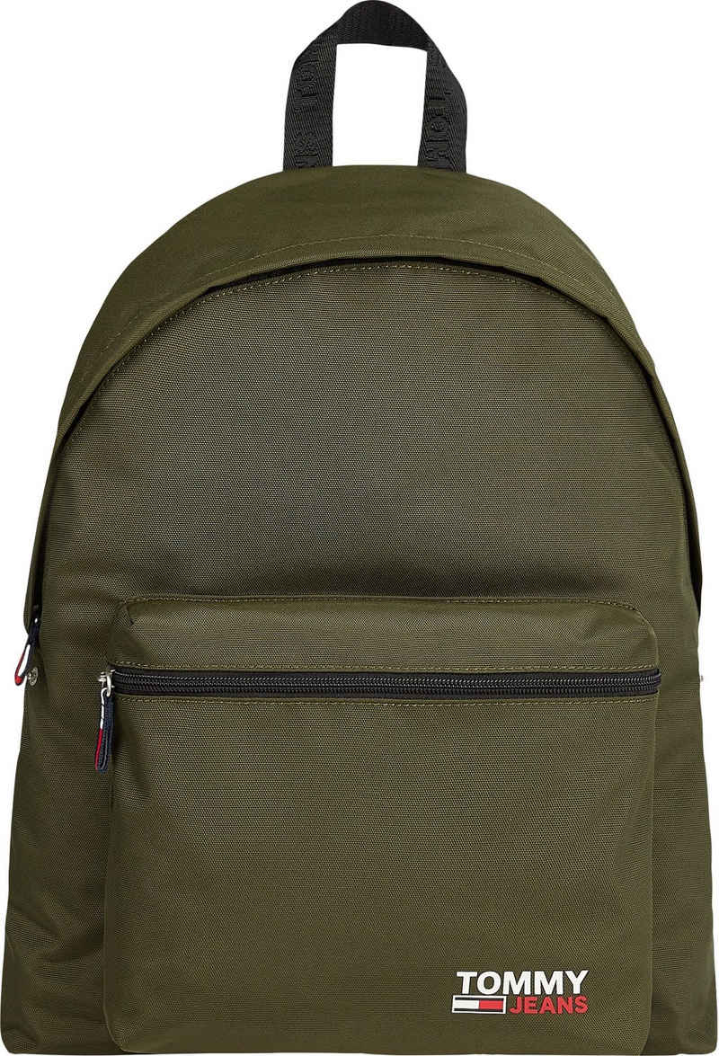 Tommy Jeans Cityrucksack »TJM CAMPUS BACKPACK«, aus recycelten Material