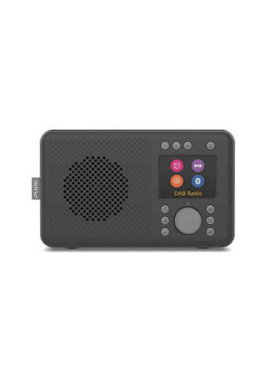 Pure »Elan Connect« Internet-Radio (Digitalradio (DAB), Internetradio sowie DAB/DAB+ & UKW Radio, 60 Senderspeicherplätze, Sleep-Timer, Weckfunktion, Bluetooth, AUX, WLAN)