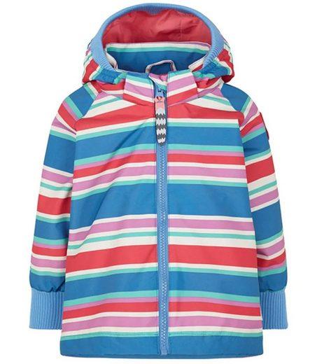 racoon outdoor Regenjacke »racoon Outdoor Daimi Stripe Regen-Jacke gestreifte Kinder Funktions-Jacke Freizeit-Jacke Bunt«