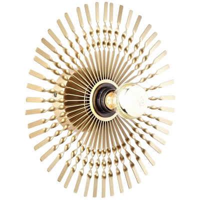Brilliant Leuchten Wandleuchte »Mendoza«, Wandleuchte 33cm gold