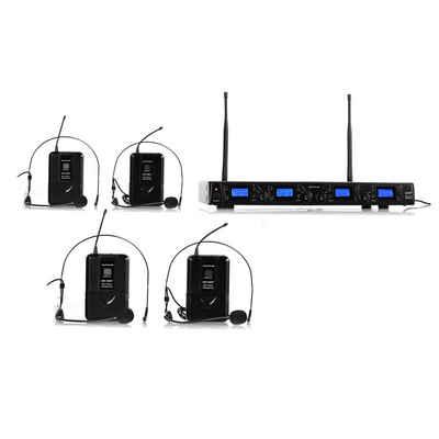 Auna Mikrofon »UHF-550-2 Quartett2 4-Kanal UHF-Funkmikrofon-Set«