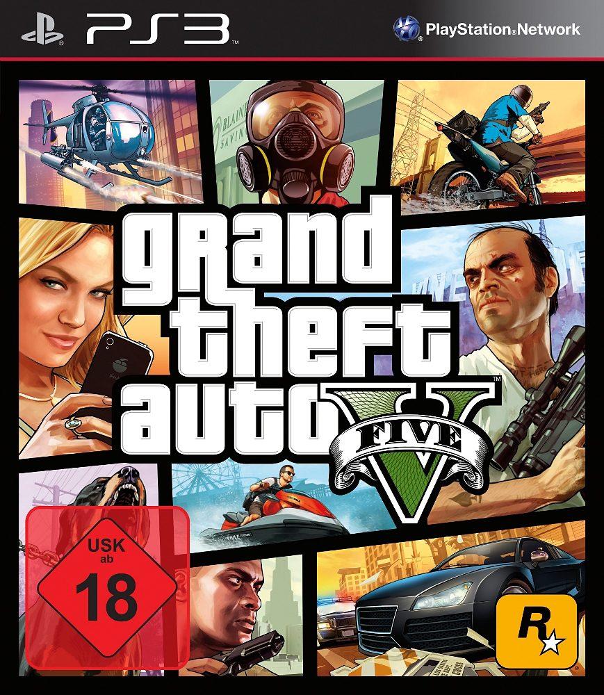 Grand Theft Auto 5 (GTA5) PlayStation 3 Spiel