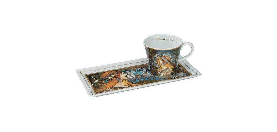 Goebel Kaffee-Set, Die Sternzeichen 2-tlg. »Artis Orbis - Art & Coffee« in Bunt