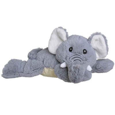 Hirsekörnerkissen, »Wärmekuscheltier Elefant«, Welliebellies, Wärme zum Liebhaben, geeignet für Mikrowelle und Backofen