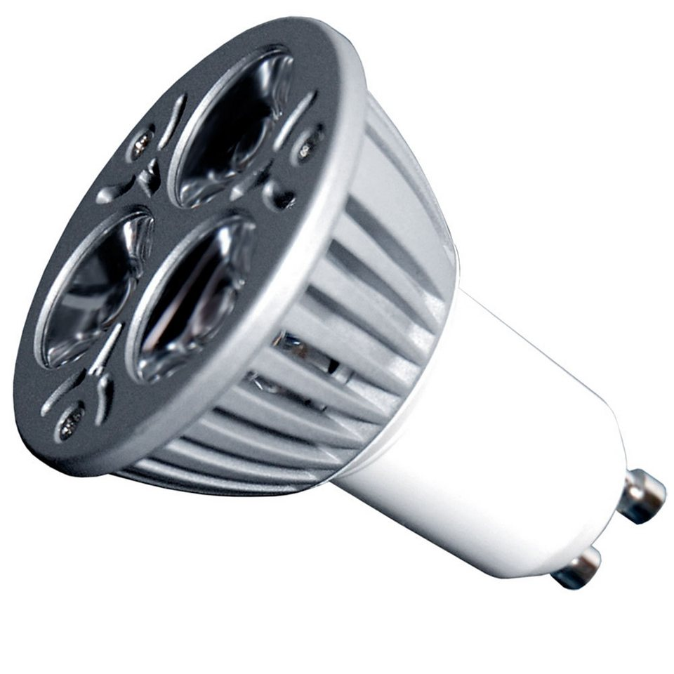 S luce led leuchtmittel gu10 3x1w warmwei otto for Leuchtmittel led
