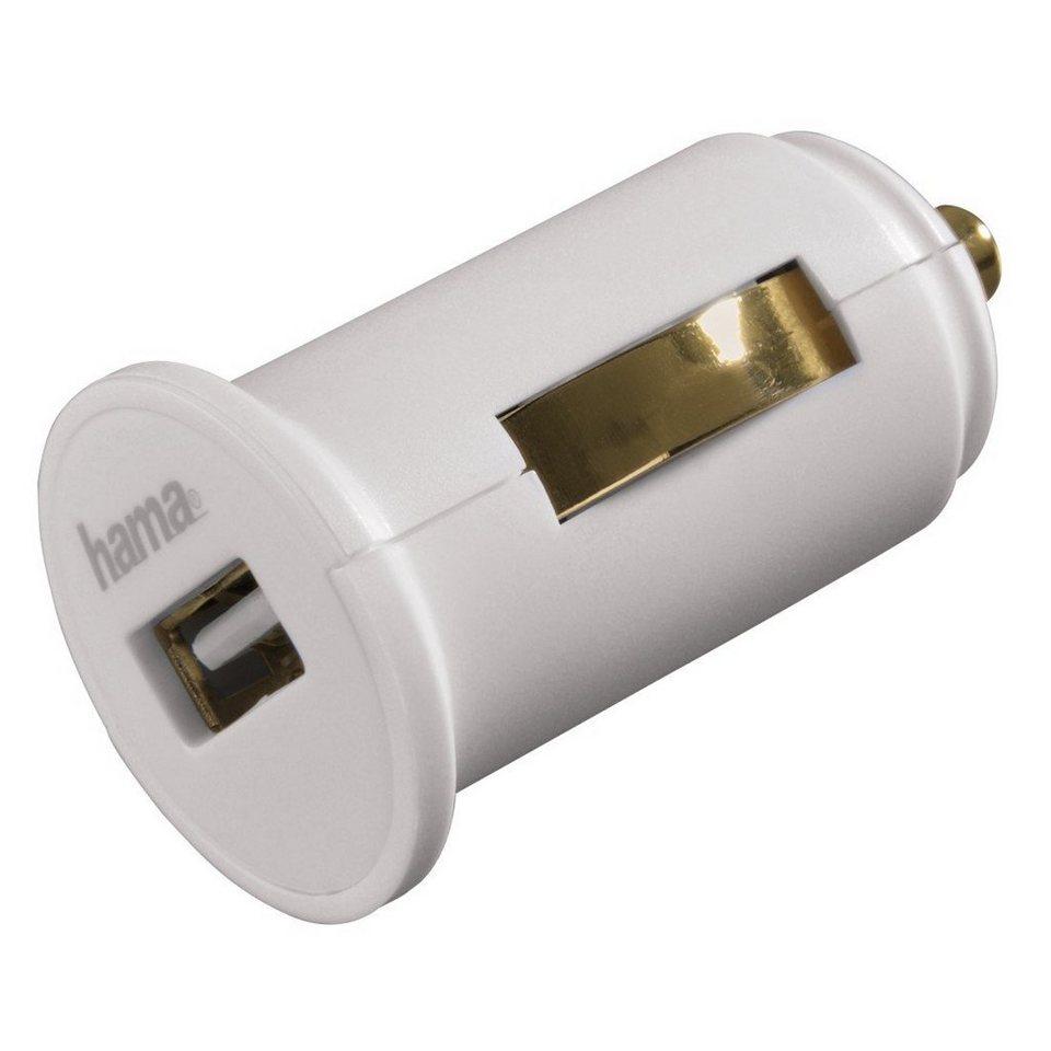 Hama USB-KFZ-Ladeadapter für Apple iPad, 5 V/2,4 A, Weiß in Weiß
