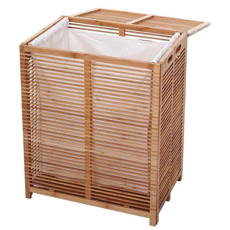 MCW Wäschekorb »MCW-B18«, Wäschesack herausnehmbar und waschbar