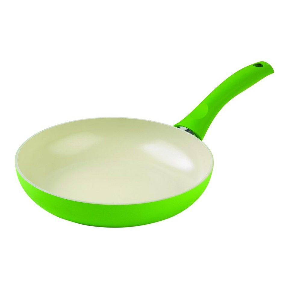 KUHN RIKON Bratpfanne 24,00 cm »Cucina Ceramic Induktion« in Grün