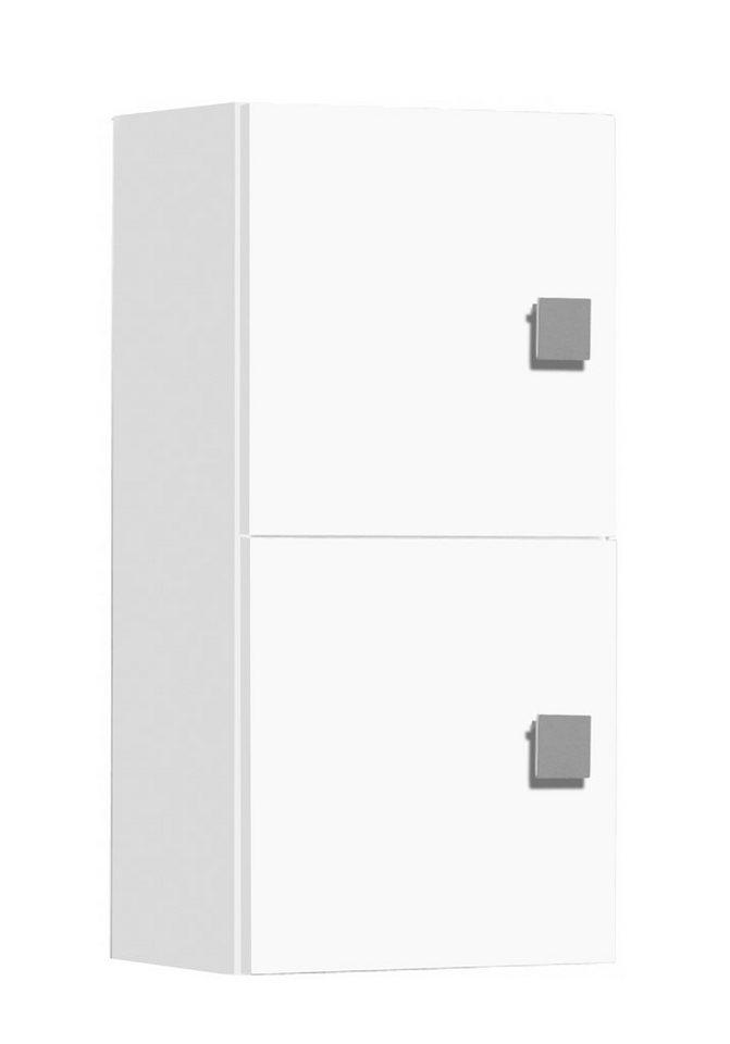 Hängeschrank, Schildmeyer, »Quadra« in weiß-weiß