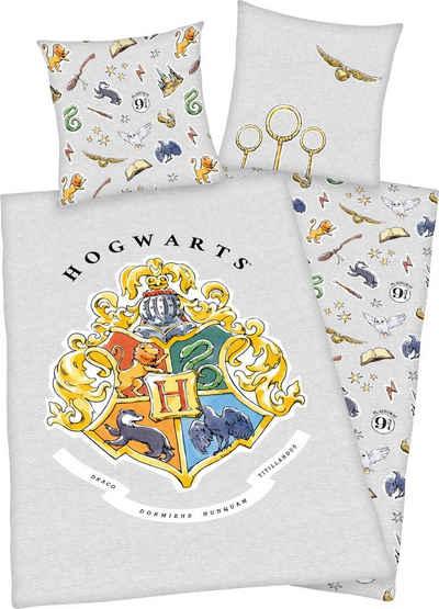 Wendebettwäsche »Harry Potter«, Harry Potter, mit tollem Hogwarts Motiv