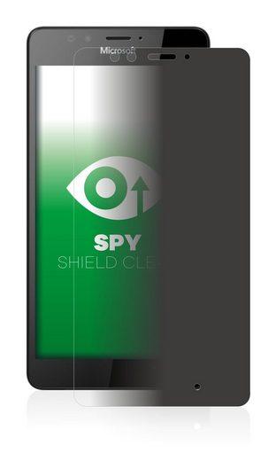 upscreen Schutzfolie »für Microsoft Lumia 950«, Folie Schutzfolie Sichtschutz klar anti-spy