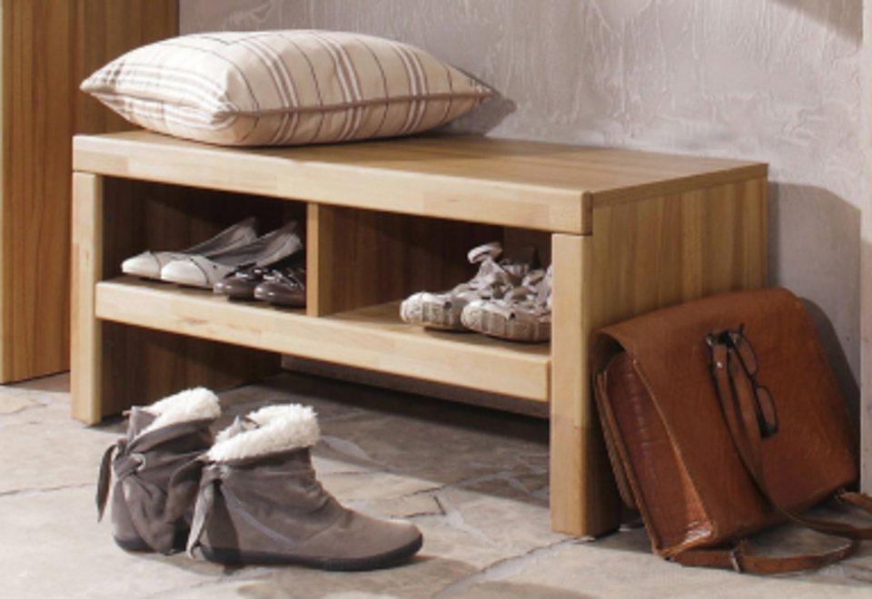 massivholz schuhbank preisvergleiche erfahrungsberichte und kauf bei nextag. Black Bedroom Furniture Sets. Home Design Ideas