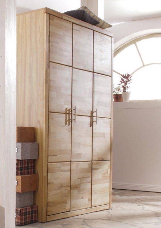 Garderobenschrank »Laura« in kernbuche