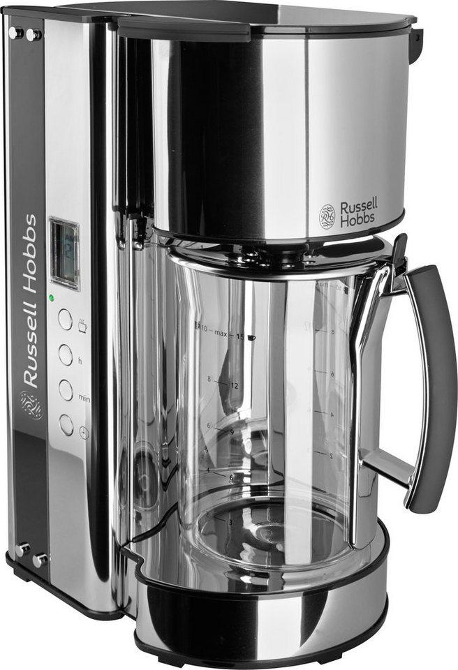 russell hobbs glas kaffeemaschine black glass 19650 56 1090 watt online kaufen otto. Black Bedroom Furniture Sets. Home Design Ideas