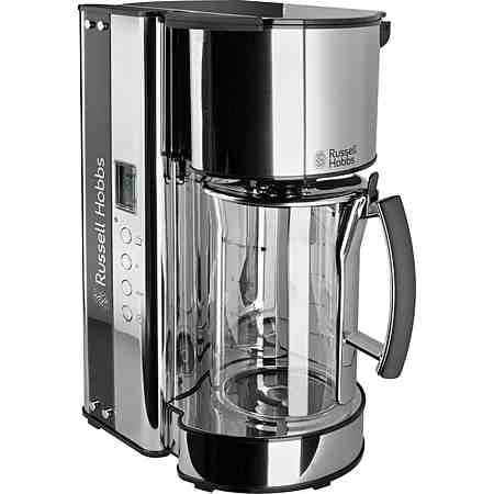 Russell Hobbs Glas-Kaffeemaschine »Black Glass« 19650-56, 1090 Watt