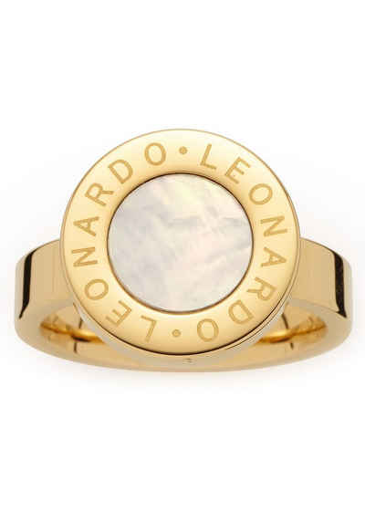 LEONARDO Fingerring »Mauritia, 018185, 018186, 018187«, mit Perlmutt
