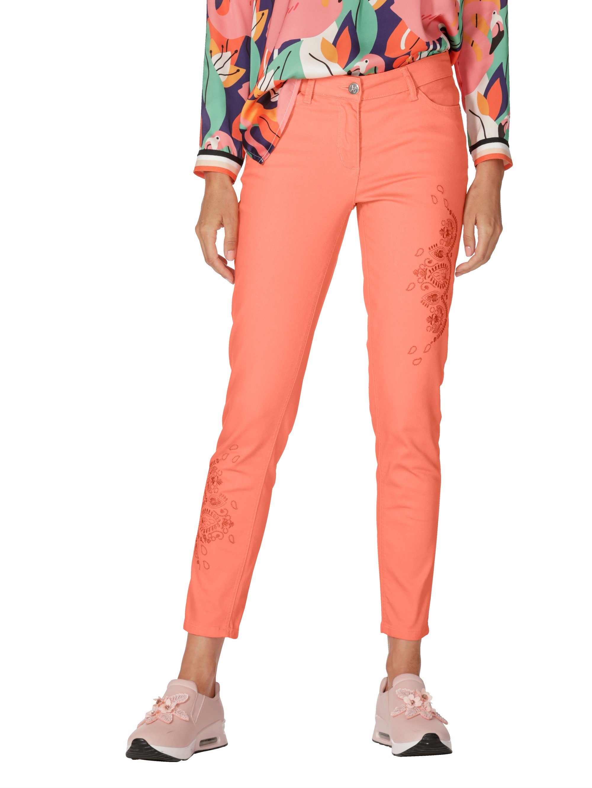 Kim Kara Jerseykleid Jeansblau