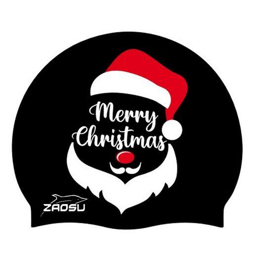ZAOSU Badekappe »Christmas Badekappe Santa«